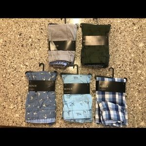 Banana Republic men's boxer set of 5 size Large